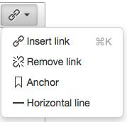 Final TInyMCE 4 toolbar drop-down menu
